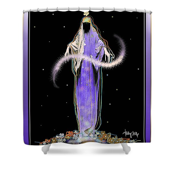 Sorciere  Shower Curtain