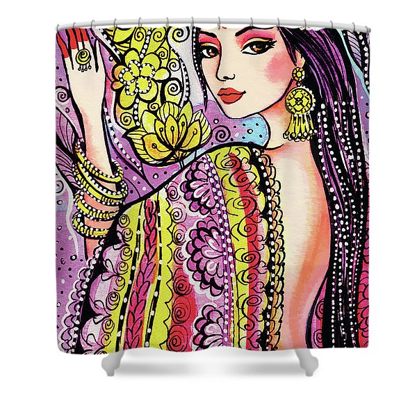Soul Of India Shower Curtain