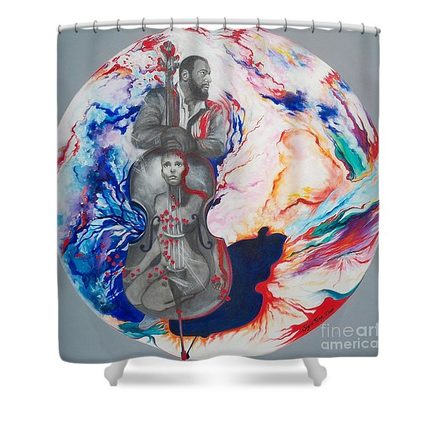 Blaa Kattproduksjoner             Soul Seduction Shower Curtain