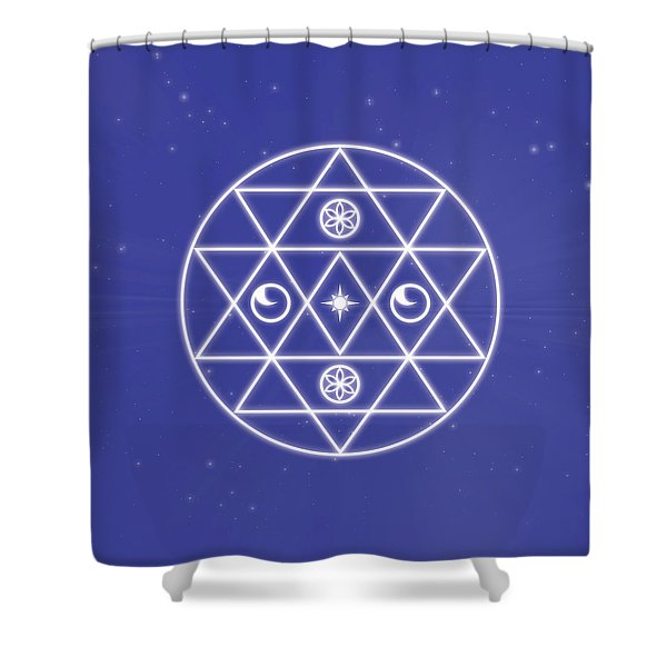 Souls Journey Home Shower Curtain