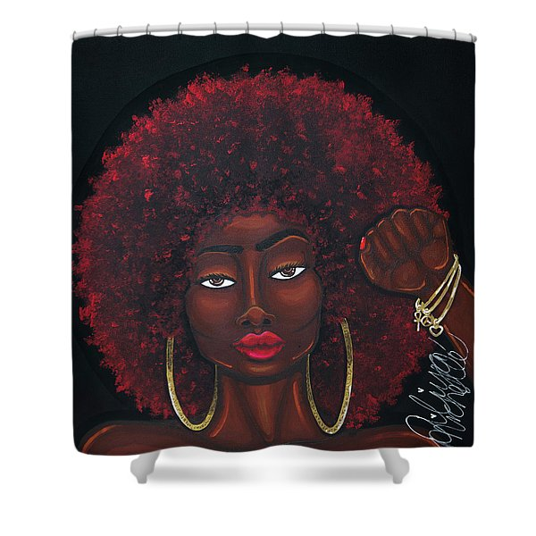 Soul Sista Shower Curtain