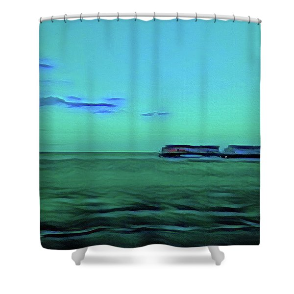 Sound Of A Train In The Distance Shower Curtain