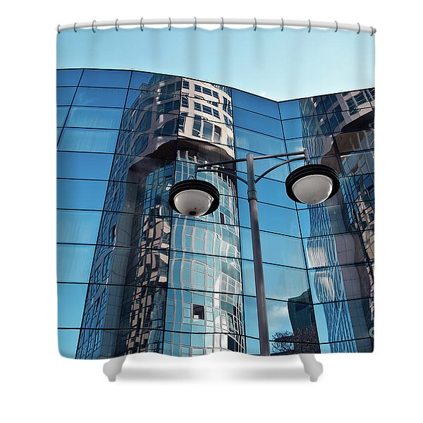 Shower Curtain featuring the photograph Sound Of Glass by Silva Wischeropp