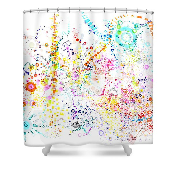 Sounding The Void Shower Curtain