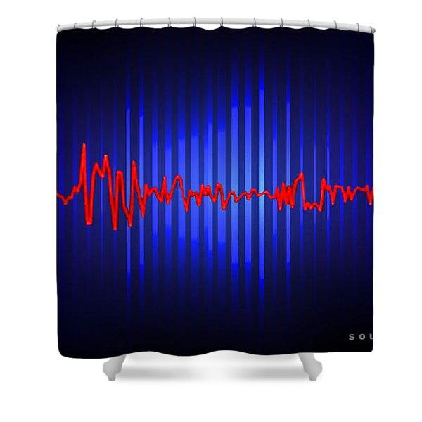 Soundscape 26 Shower Curtain