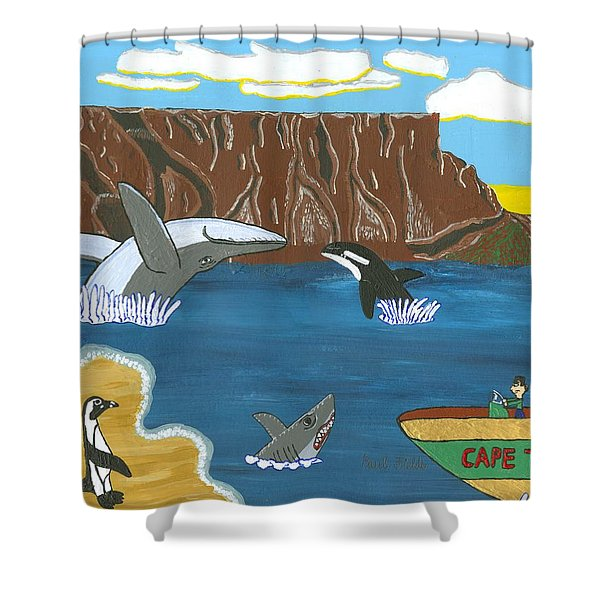 South Africa Cape Town   Oct Shower Curtain