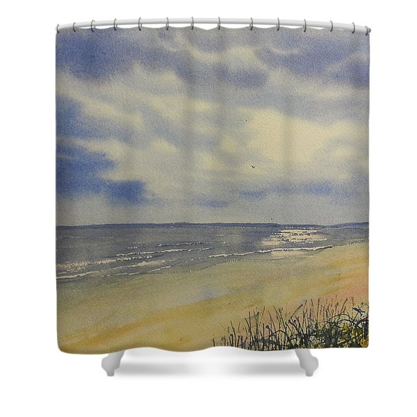 South Beach From The Dunes Shower Curtain