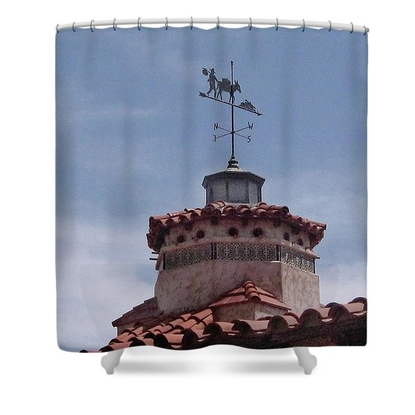 South By Southwest - Death Valley Shower Curtain