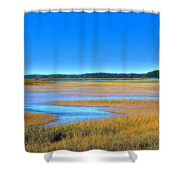South Carolina Lowcountry H D R Shower Curtain