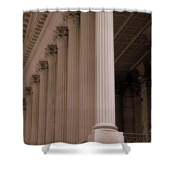 South Carolina State House Columns  Shower Curtain
