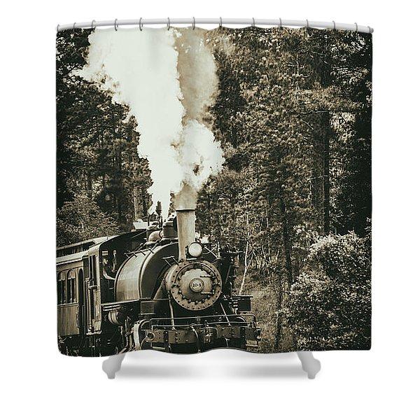 South Dakota Iron Shower Curtain