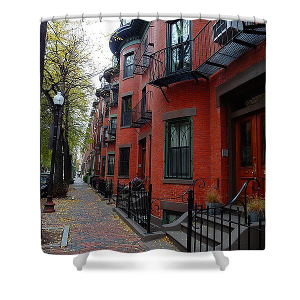 South End - Boston Shower Curtain