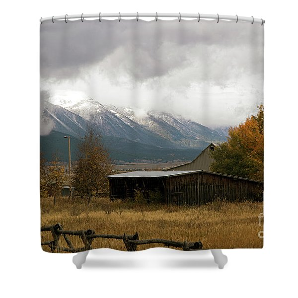 South Idaho Rt 20 Shower Curtain