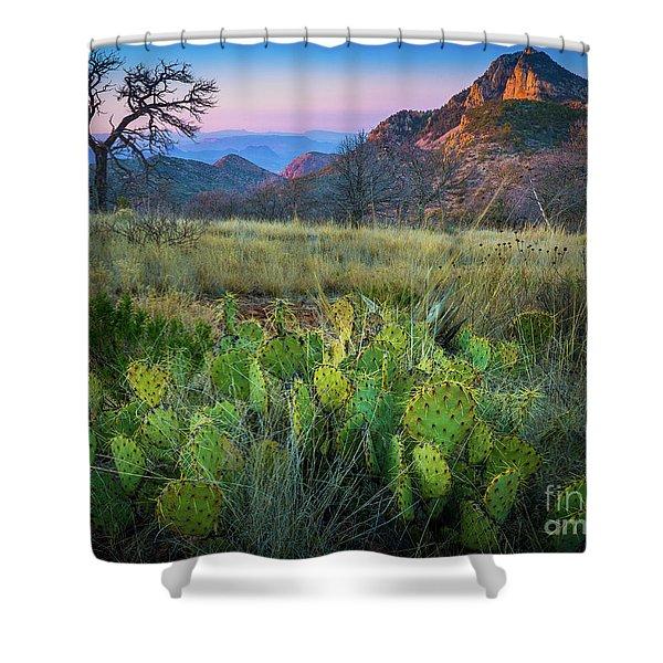 South Rim Morning Shower Curtain