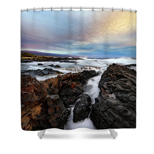 South Swell Shower Curtain