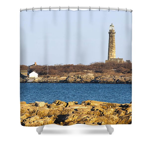 South Tower-thatcher Island Shower Curtain