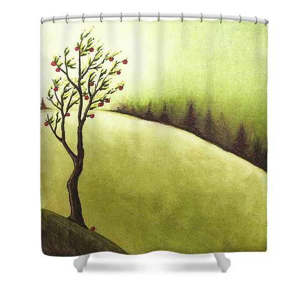 South Wind Shower Curtain