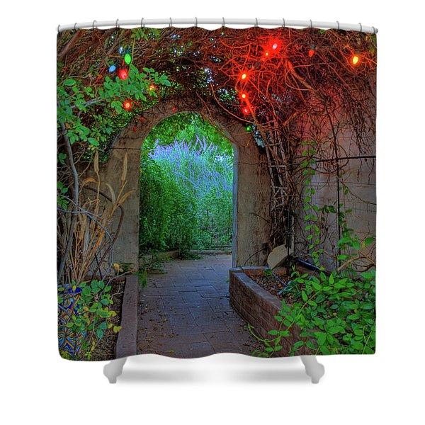 Southeast Arizona Garden Shower Curtain