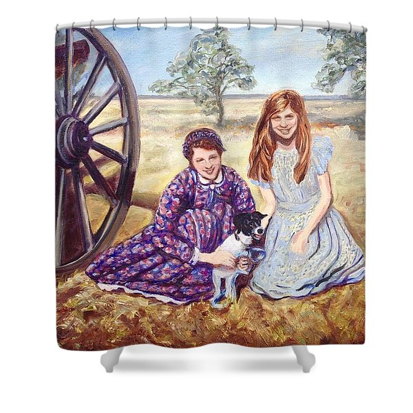 Southern Belles Shower Curtain