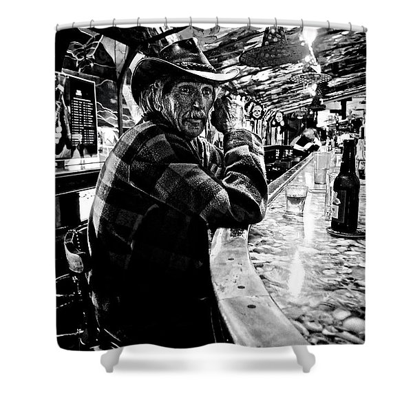 Southern Dude Shower Curtain