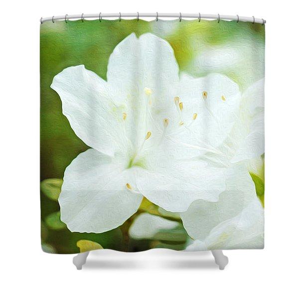 Azalea Glory Shower Curtain