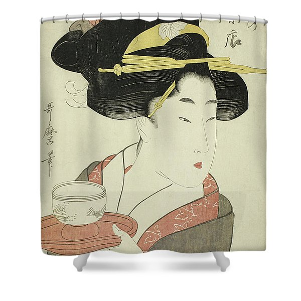 Southern Teahouse Shower Curtain
