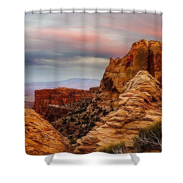 Southern Utah Sunset Shower Curtain