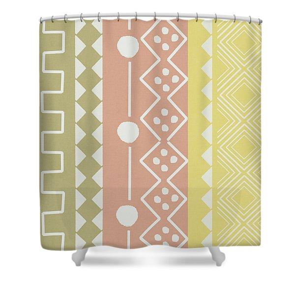 Southwest Decorative Design 6- Art By Linda Woods Shower Curtain