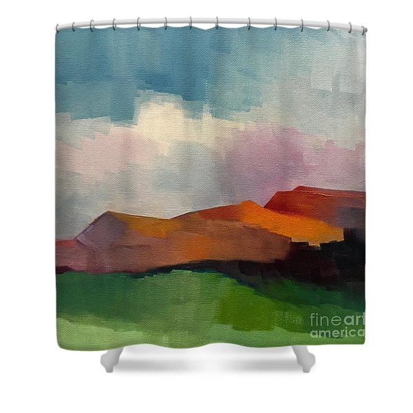 Southwest Light Shower Curtain