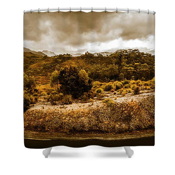 Southwest National Park Tasmania Shower Curtain