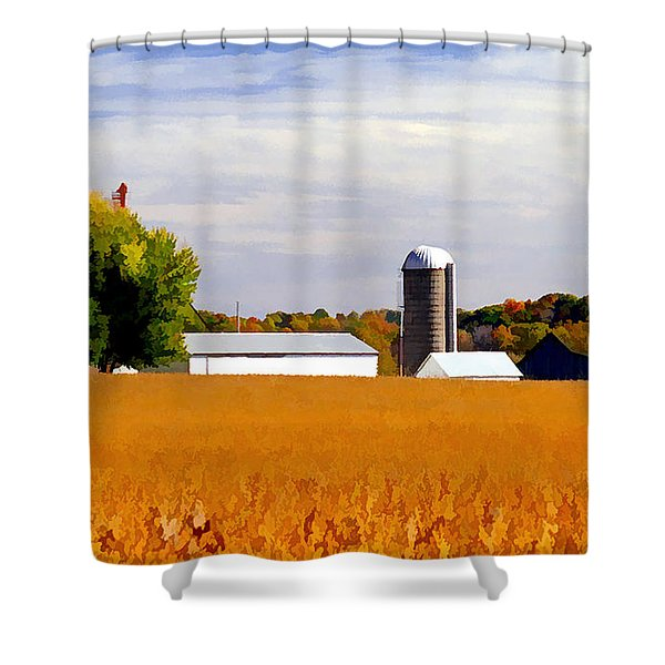 Soybean Shower Curtain