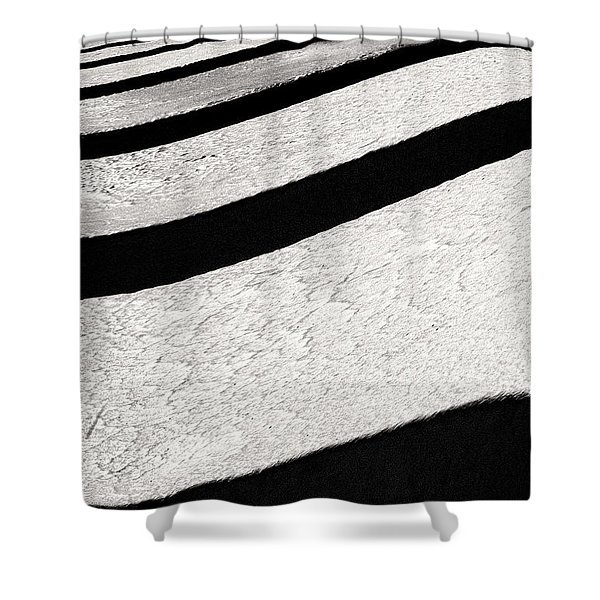Space Geometry #16 Shower Curtain