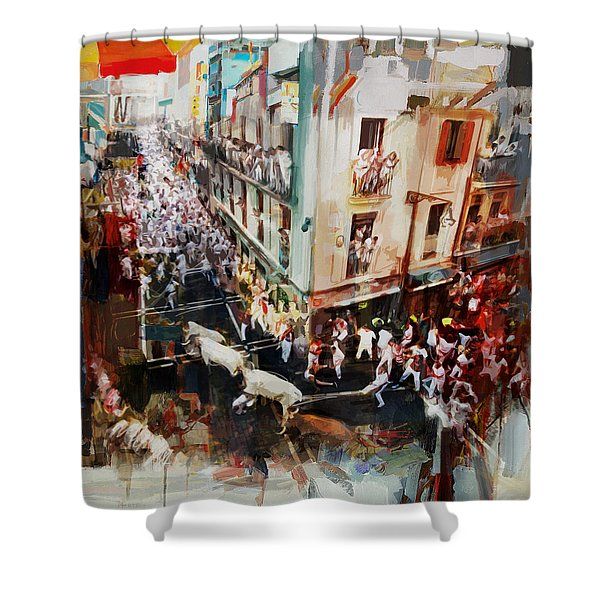 Spanish Culture 11 Shower Curtain