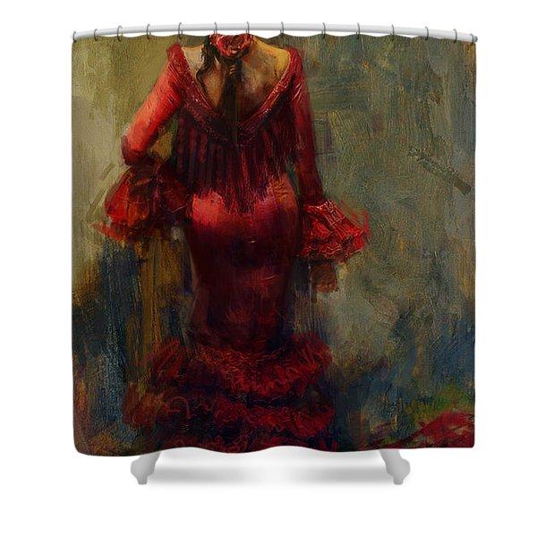 Spanish Culture 22 Shower Curtain