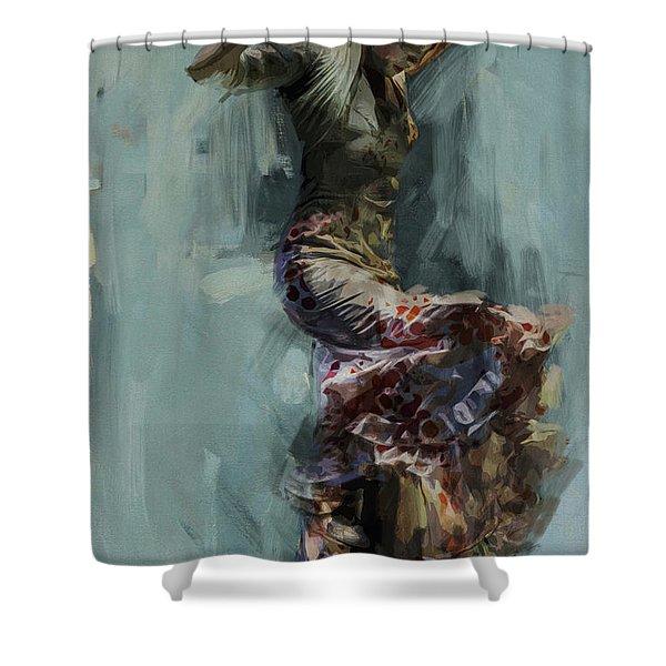 Spanish Culture 9 Shower Curtain