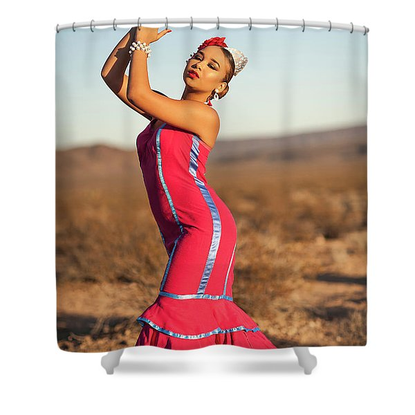 Spanish Dancer Shower Curtain