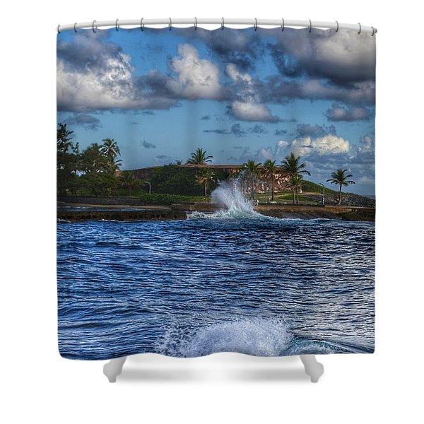 Spanish Fort  Shower Curtain