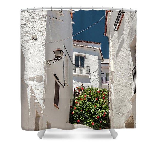 Spanish Street 2 Shower Curtain