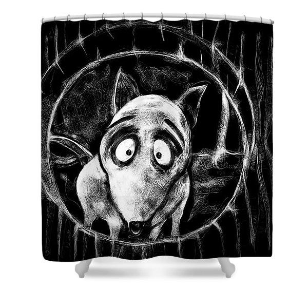 Sparky Shower Curtain