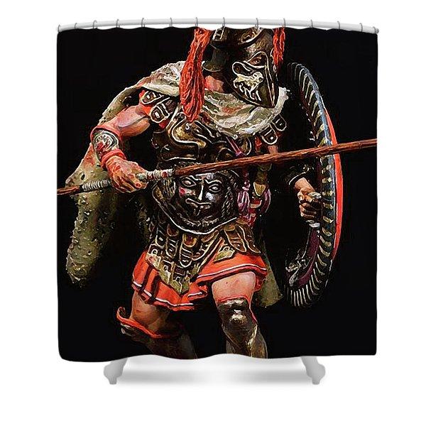 Spartan Hoplite - 05 Shower Curtain