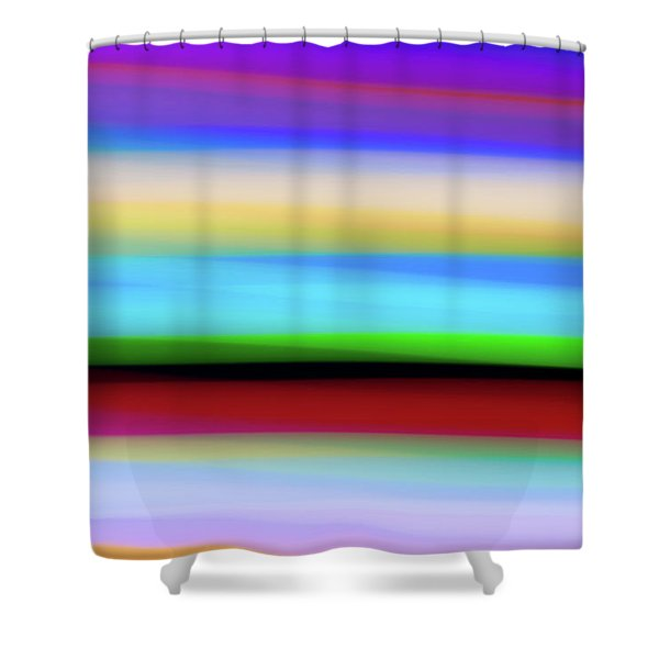 Speed Of Lights Shower Curtain