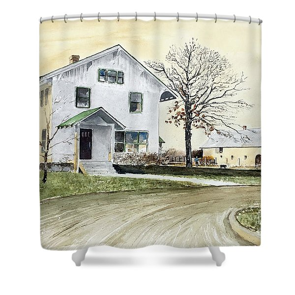 Sperry Homestead Shower Curtain