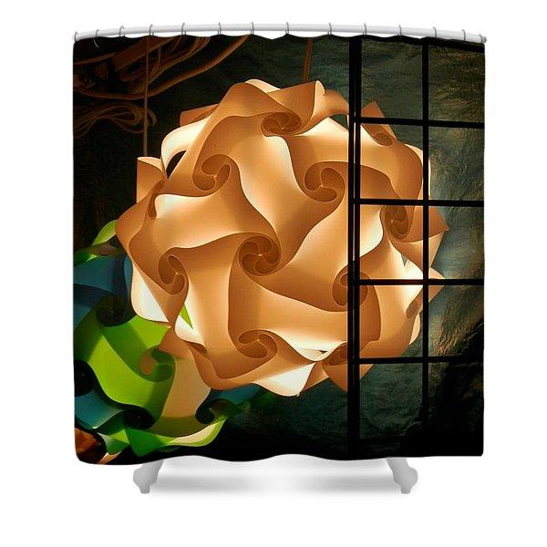 Spheres Of Light Shower Curtain