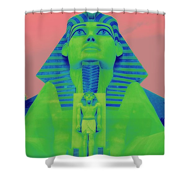 Sphinx At Luxor - 2 Shower Curtain
