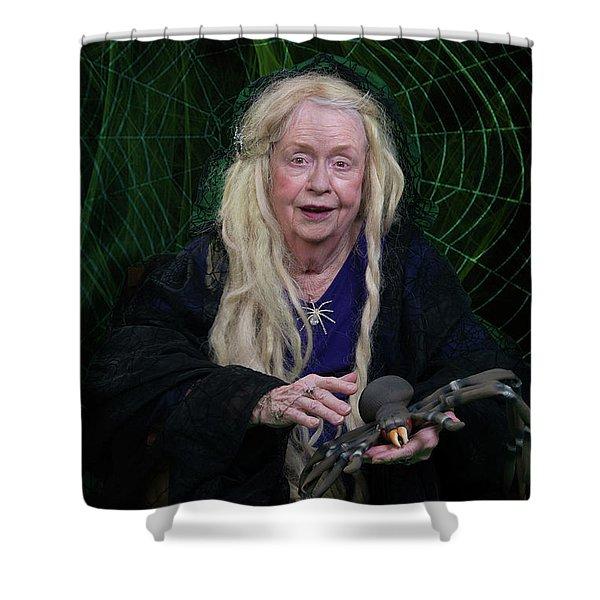 Spider Woman Shower Curtain
