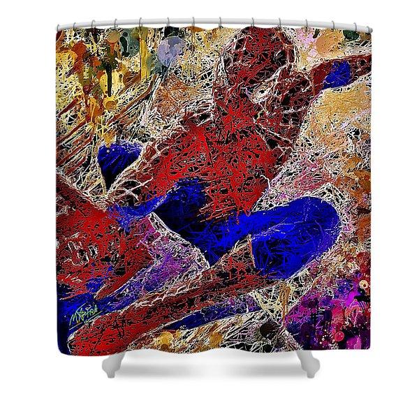 Spiderman 2 Shower Curtain