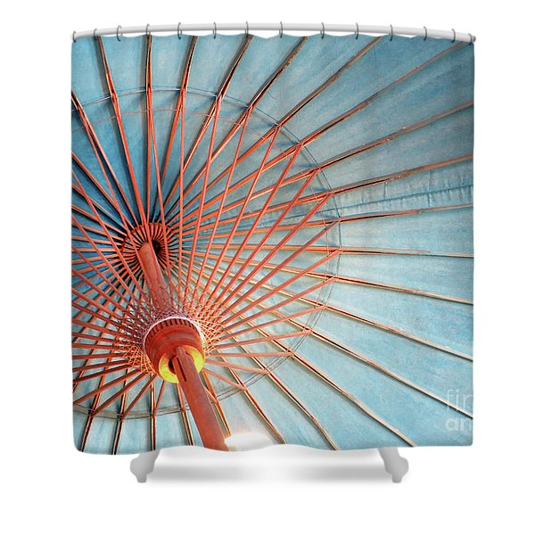 Spindles And Struts Shower Curtain