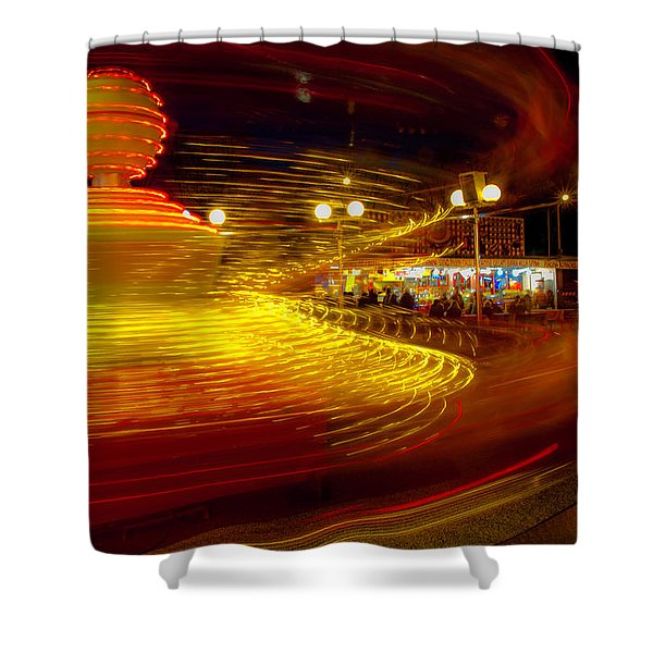 Spinning Until You're Dizzy Shower Curtain