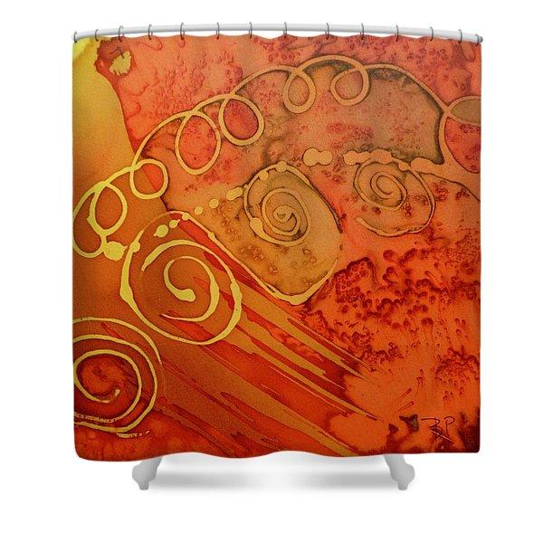 Spiral Shower Curtain