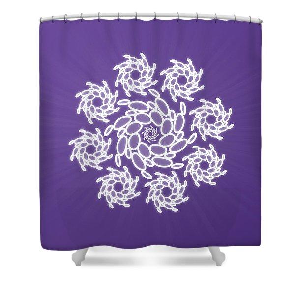 Spiral Dance Shower Curtain